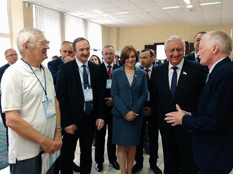 Председатель Совета Республики Национального собрания Республики Беларусь в гостях у Технопарка