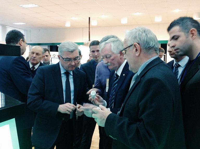 Рабочая встреча с министром здравоохранения Республики Беларусь Малашко В.П.